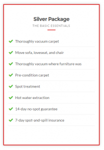 Taylor steamer carpet cleaning package 1